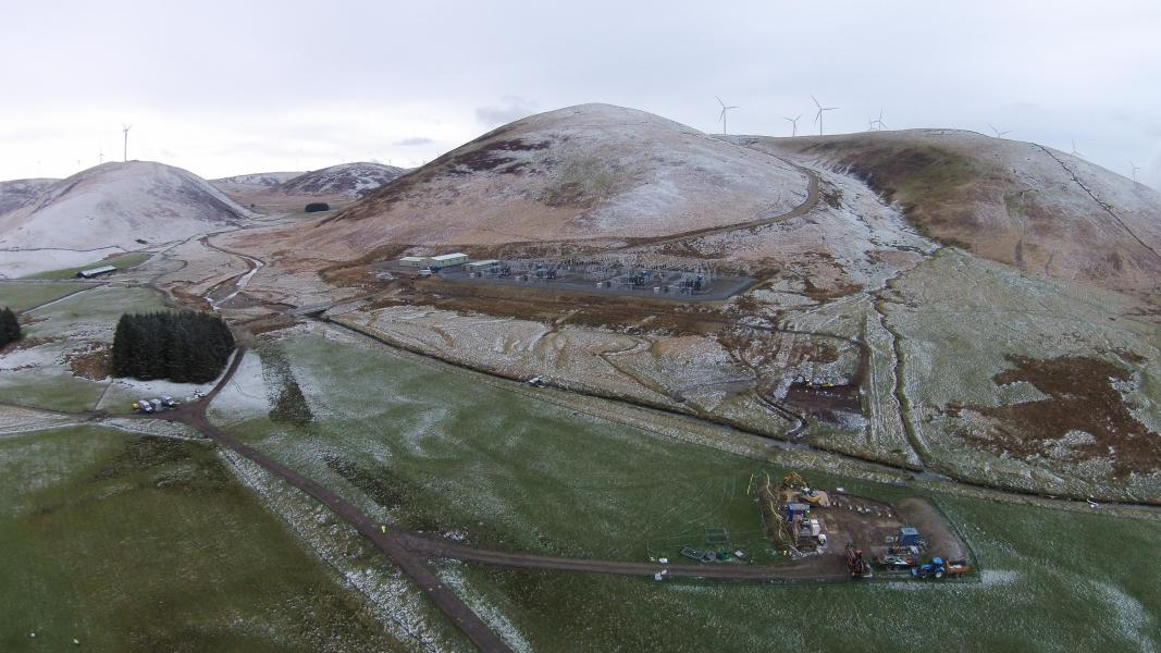 This image really shows the scale of the project being undertaken