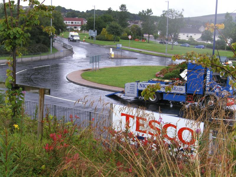 A944 Roundabout at Tesco